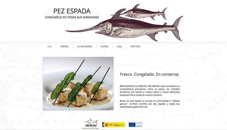 Orpagu lanza un portal web con informaci n sobre el pez for Pez espada fresco
