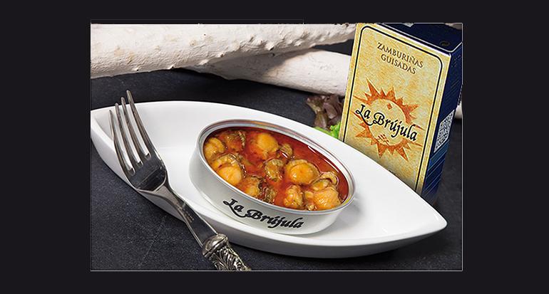Zamburi as gallegas exquisito manjar en lata retail actual - Conservas la brujula ...