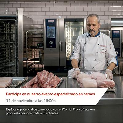 Explota las posibilidades del take-away en carnes con el iCombi Pro (Rational)
