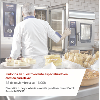 Diversifica tu negocio para take away con iCombi Pro (Rational)