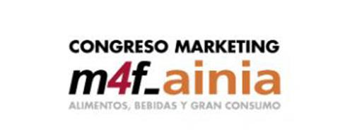 Se aplaza el II Congreso de Marketing Alimentario de España M4F-Ainia