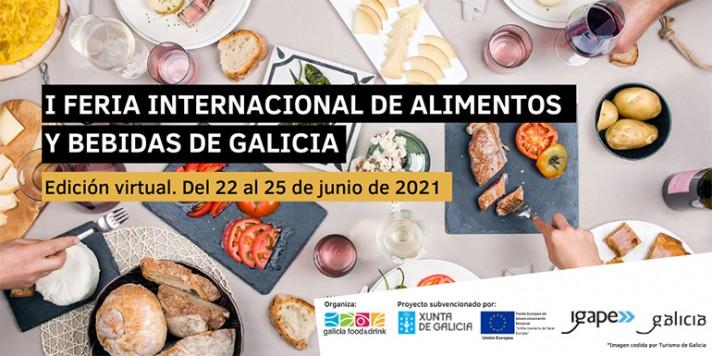 1º Feria Internacional de Alimentos y Bebidas de Galicia