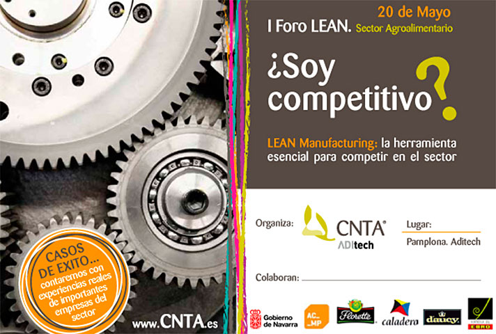 I Foro Lean Sector Agroalimentario; ¿Soy competitivo?