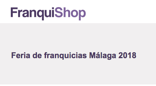 Franquishop Málaga 2018