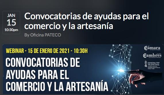 Ayudas comercio, consumo y artesanía en Comunitat Valenciana