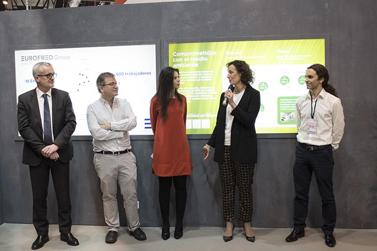 El compromiso de Eurofred con la reducción de CO2, reconocido con el Triple Sello otorgado por la OECC