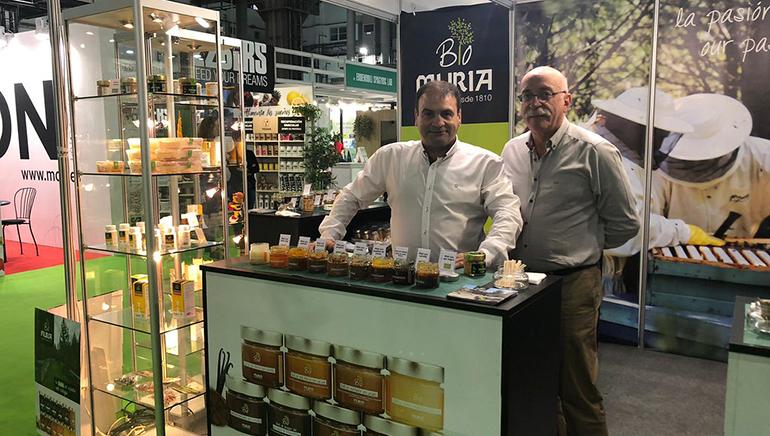 Diferentes variedades de Miel Muria, presentes en EcoSalud Barcelona y Firabril 2019