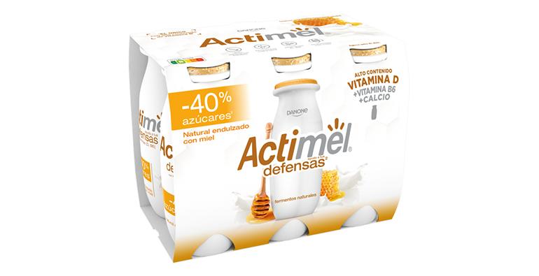 Actimel Honey, Activia Fibras y otras novedades para el lineal de lácteos
