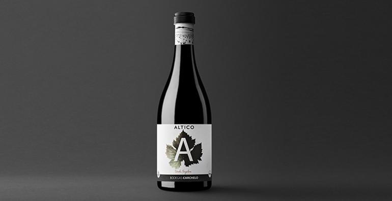 Altico 2016, 100% Syrah de viñedos singulares