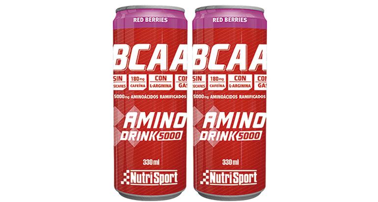 Bebida con  aminoácidos esenciales, especial para deportistas