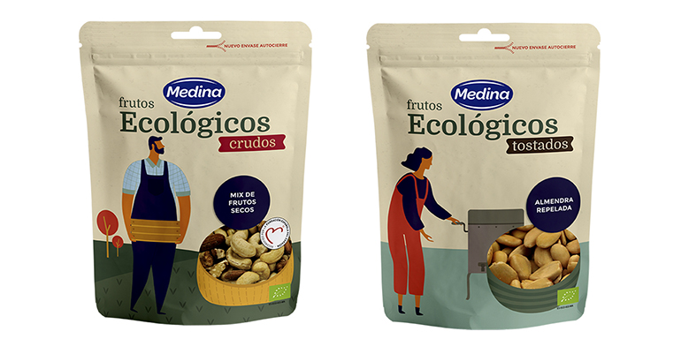 Nuevo packaging para la gama ecológica de frutos secos