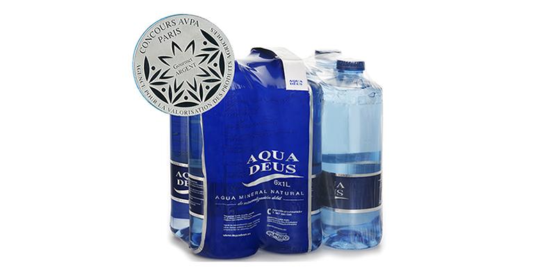 El agua mineral Aquadeus se trae una medalla de plata de París
