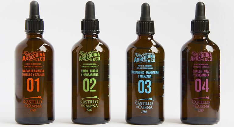 Arbequina&Co, explosiva fusión del Aove con aceites esenciales para realzar platos, quesos y cocktails
