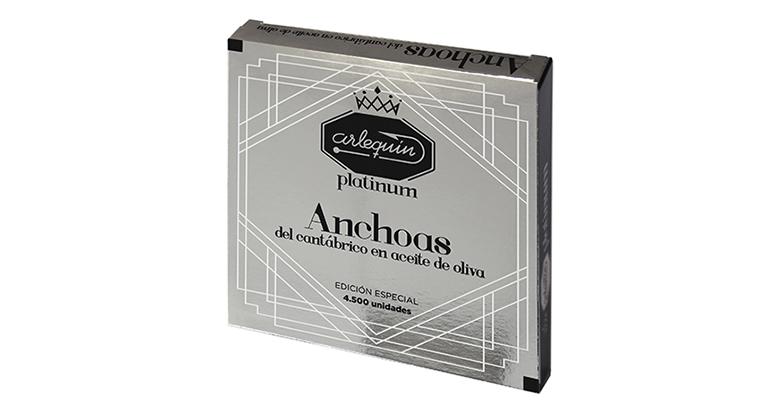 Serie platinum de anchoas de Santoña de conservera centenaria