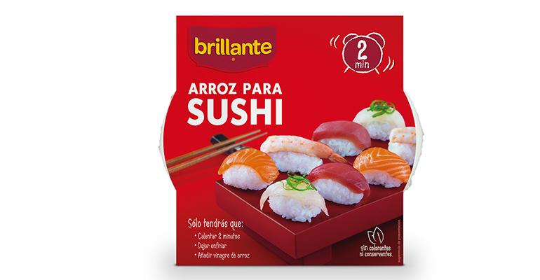 Brillante arroz para sushi