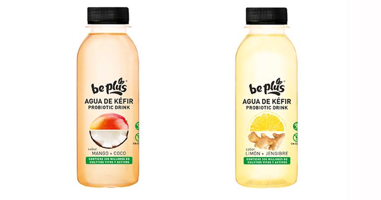 Bebidas probióticas elaboradas con agua de Kéfir, con ingredientes 100% naturales