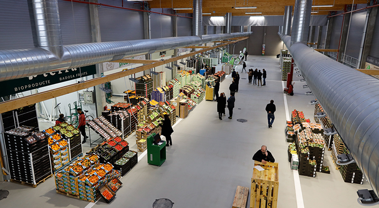 Mercabarna pone en marcha el primer mercado mayorista de alimentos ecológicos de España