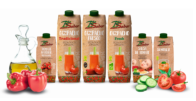 Gazpacho fresco 100% ecológico