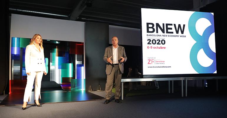 BNEW Barcelona será trampolín para la recuperación económica global