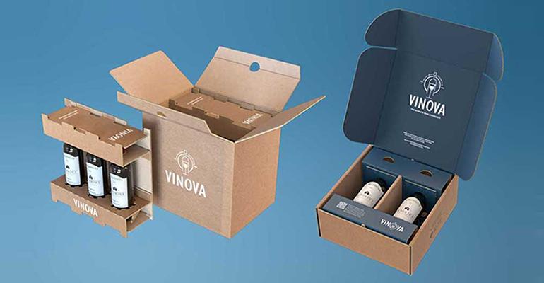 eBottle, packaging para los envíos online seguros y sostenibles de botellas y líquidos