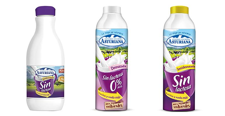 Gama completa de productos sin lactosa, con todo lo bueno de la leche y refuerzo de calcio
