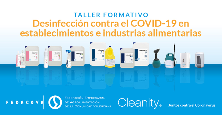 Retos en desinfección a los que se enfrenta la industria alimentaria tras el Covid-19