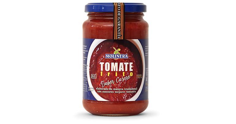Tomate frito sin aditivos, colorantes ni conservantes