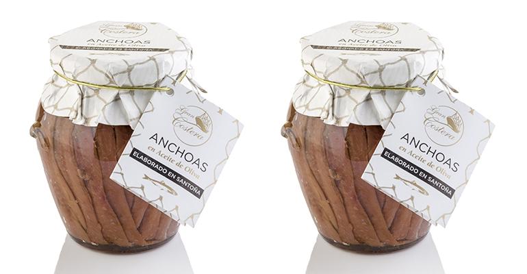 Ánfora de Anchoas del Cantábrico en aceite de oliva, Gran Costera