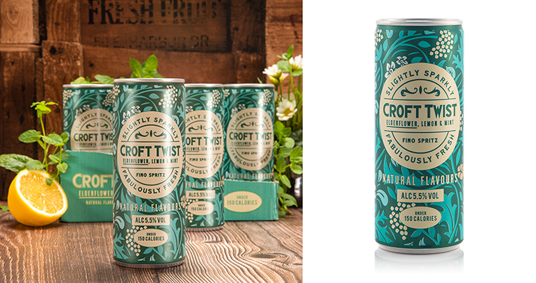Croft Twist, un aperitivo refrescante y singular, ahora en lata