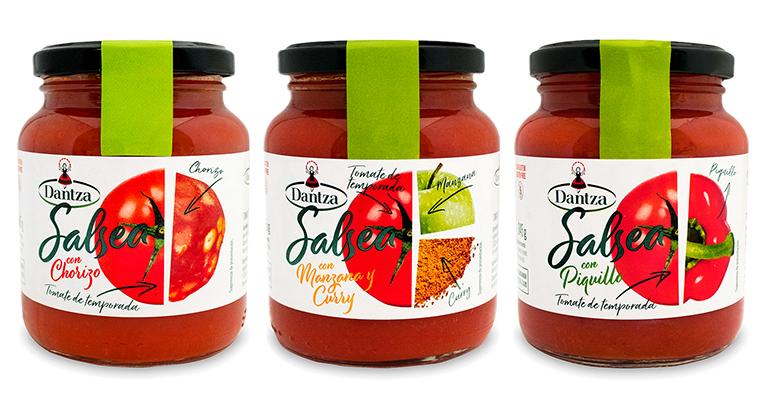 Dantza Salsea, tres recetas de salsas con base de tomate inspiradas en la cocina tradicional y étnica