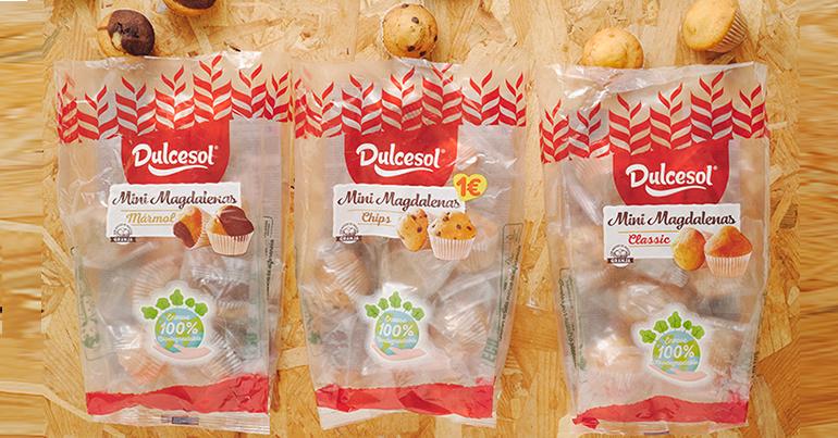 Mini magdalenas y pan de leche, ahora más saludables y sostenibles
