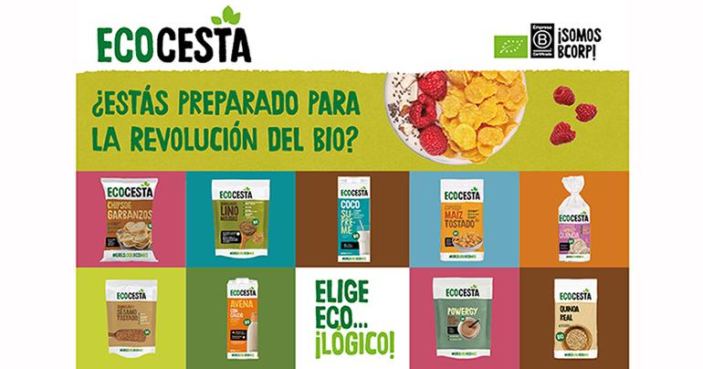 Biogran renueva la imagen de su marca Ecocesta en línea con su misión de democratizar la alimentación ecológica