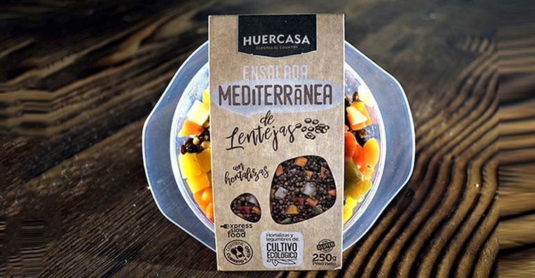 Línea de productos de conveniencia Slow Food, 100% vegetales y sin aditivos