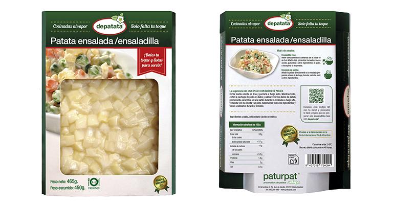 Pequeños dados de patata para hacer grandes las ensaladas y ensaladillas