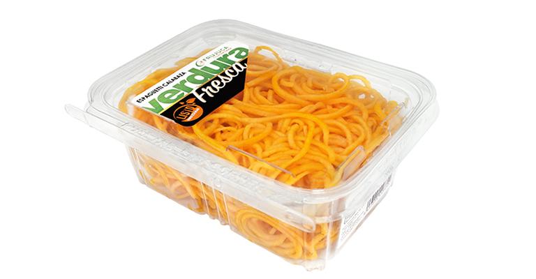 Innovadores espaguetis vegetales de calabaza y calabacín