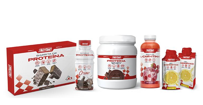 Completa línea de productos proteicos, energéticos y de control de peso