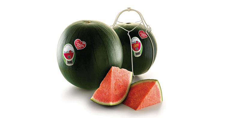 La sandia sin pepitas en el más cómodo formato se pasea por Fruit