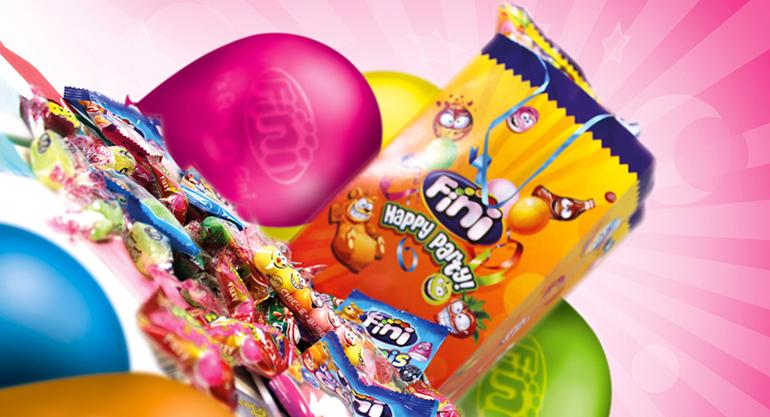 Piñatas rellenas de golosinas de distintos sabores, sin gluten