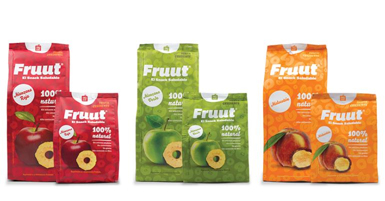 Snacks saludables de fruta deshidratada, 100% natural y apetecible