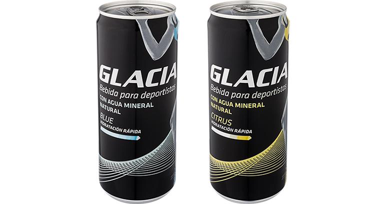 Bebida isotónica con agua mineral natural de Asturias