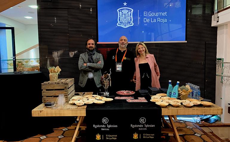 Redondo Iglesias, el nuevo jamón oficial del Sello Gourmet de la Roja