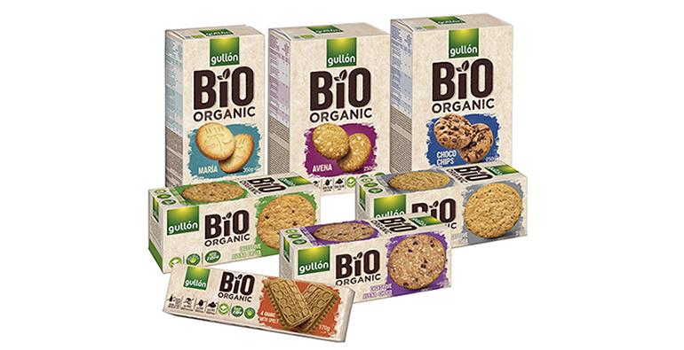Saludables galletas bio con formulación natural, con aceite de girasol alto oleícola