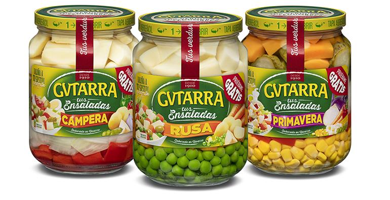 Práctica gama de ensaladas para preparar en sólo dos minutos