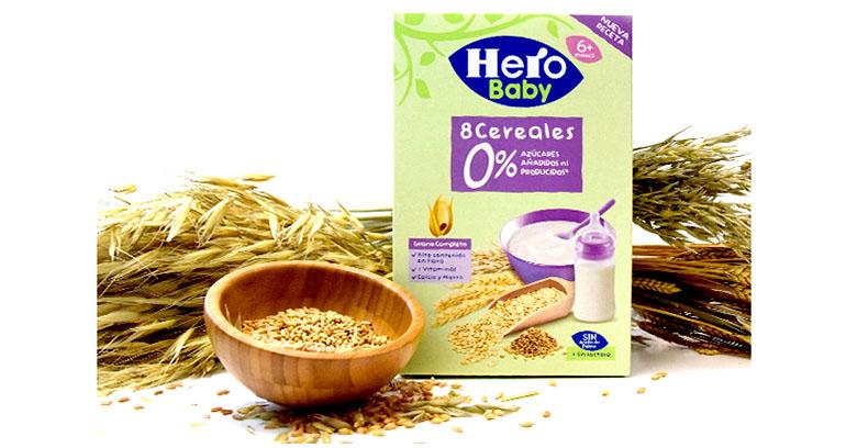 Hero Baby presenta su última innovación en cereales infantiles