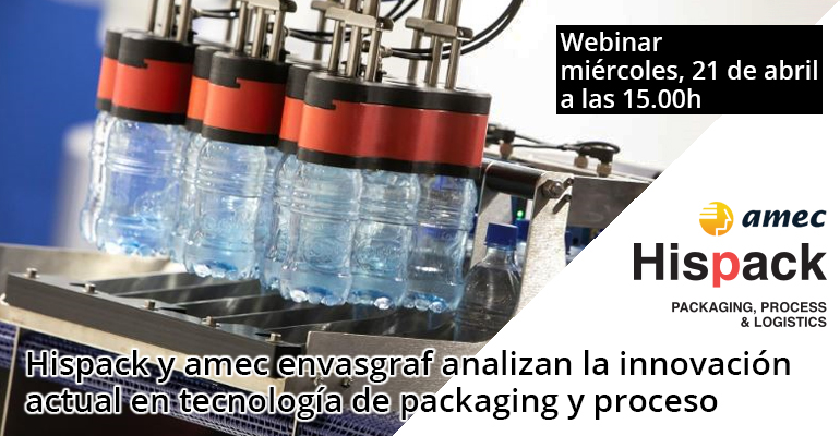 Webinar sobre innovación en packaging el 21 de abril