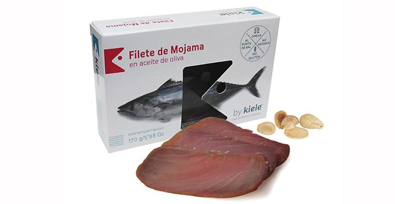 Mojama de atún en aceite de oliva, llamada