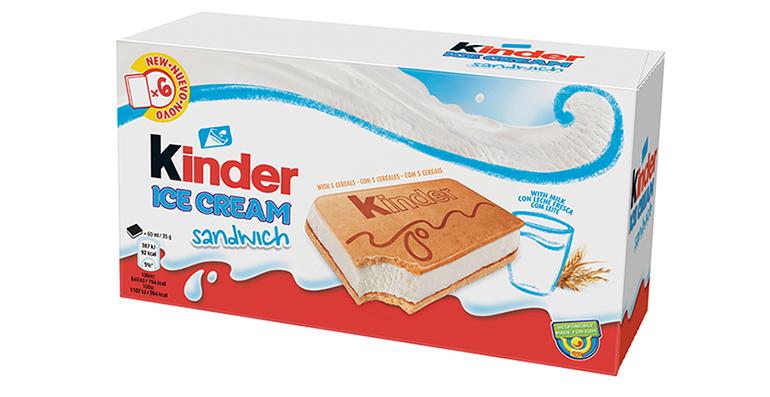 Nueva gama Kinder Ice Cream para una experiencia única de helado