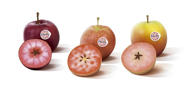 Las manzanas Kissabel llevan sus llamativos colores y sabor a Fruit Attraction