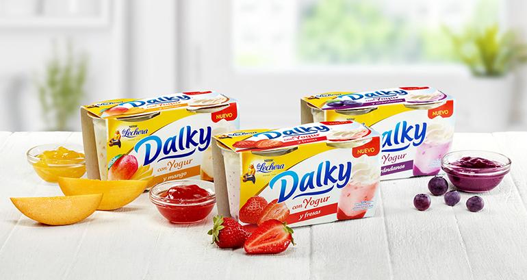 Postres y yogures con nuevos sabores que sorprenden al paladar