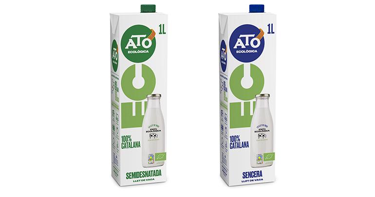 Gama ecológica de leche ECO con origen 100% catalán